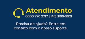 Fale Conosco - 0800 720 2717 / (45) 3112-1223
