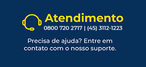 Fale Conosco - (45) 3112-1223 ou 0800 720 2717